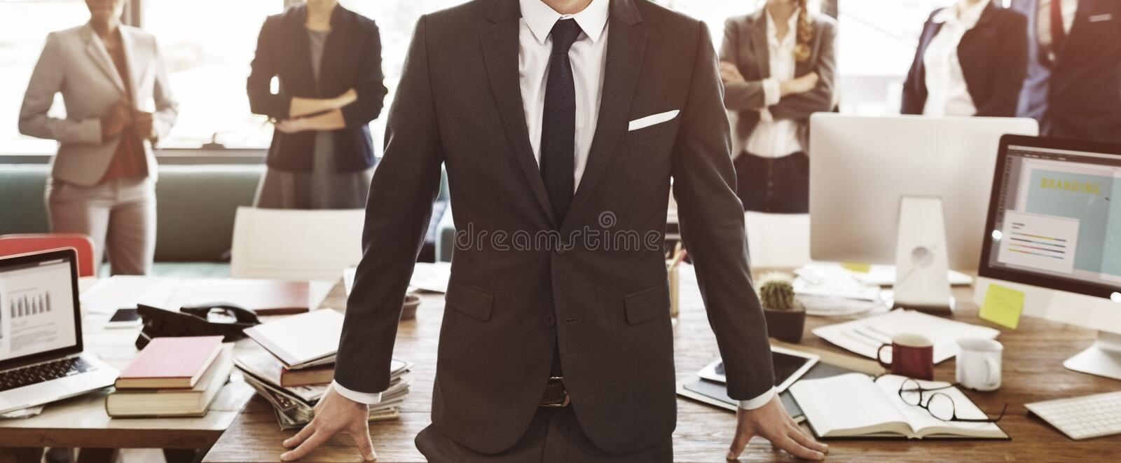 Business Collaboration Colleagues Team Corporate Concept royalty free stock photo