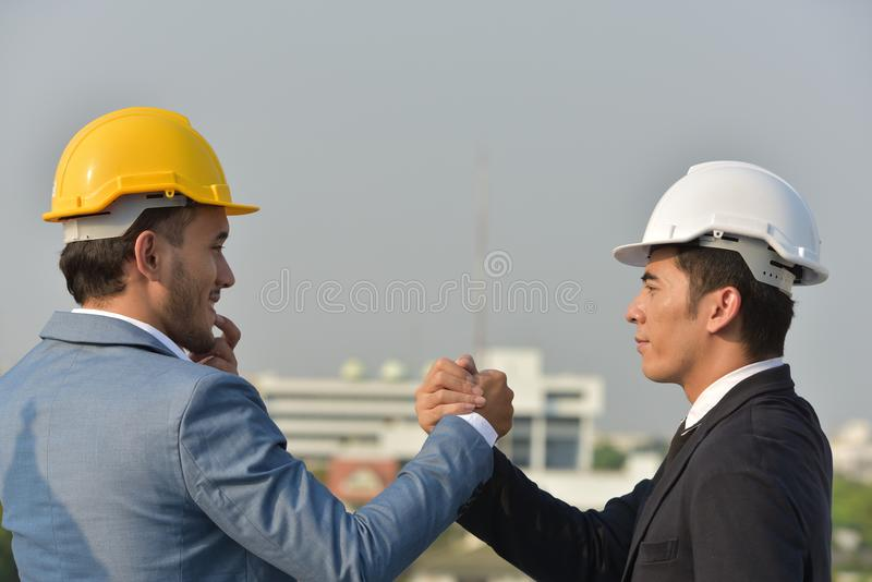 Business Collaboration Concept Of Reliability Of Partnership And
