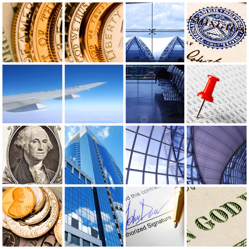 Download Business collage stock photo. Image of room, currency - 10732008