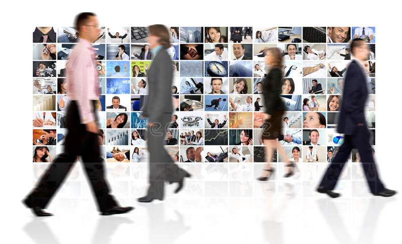 Download Business collage stock photo. Image of business, person - 16035720