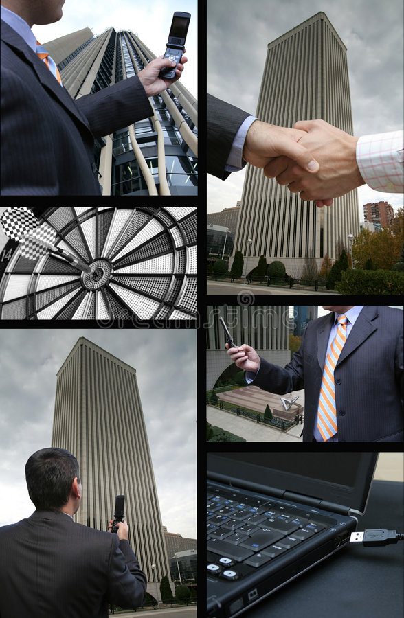 Free Business Collage Royalty Free Stock Image - 3536306
