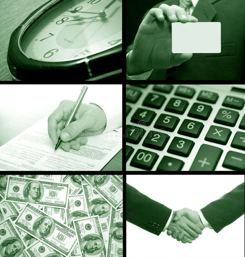 Download Business collage stock image. Image of meeting, businessmen - 3662123