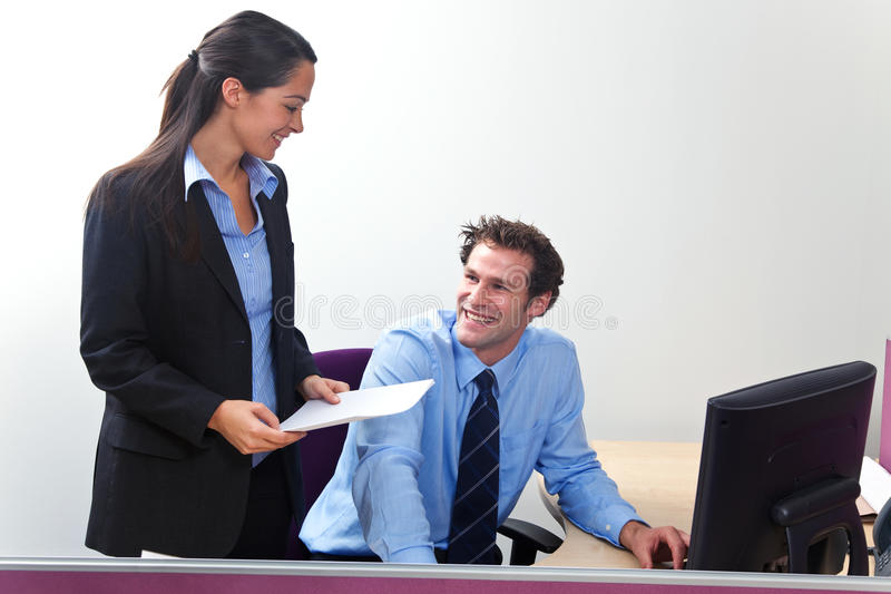 Download Business colleagues stock photo. Image of smiling, relationship - 12965790