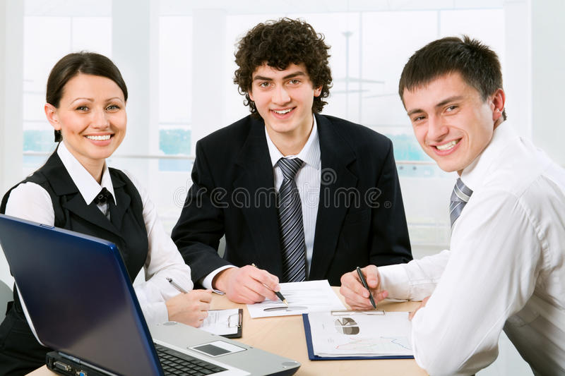 Business colleagues stock images