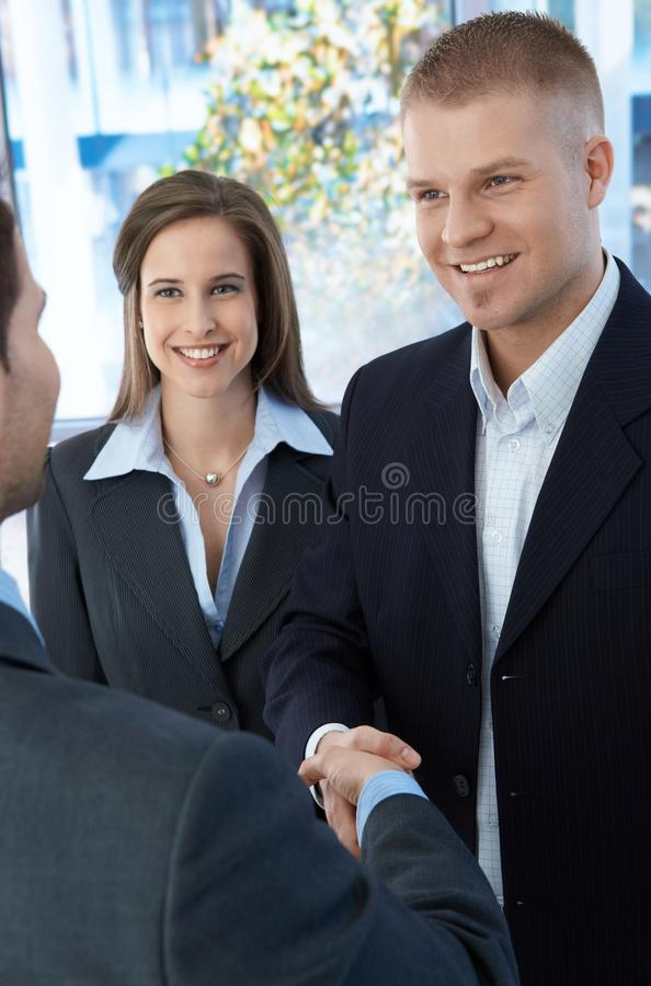Download Business Colleagues Introducing Stock Photo - Image: 20531650