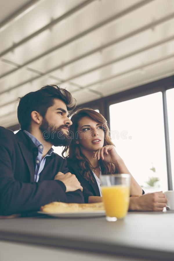 Free Business Colleagues On A Coffee Break Stock Photos - 116873873