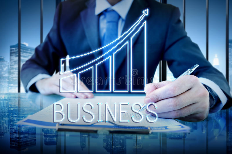 Business Commercial Corporate Opportunity Concept stock photography