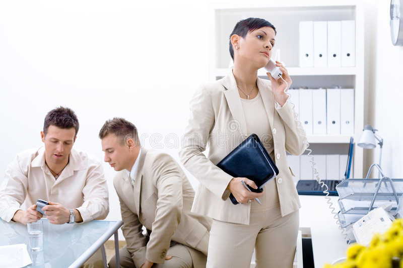 Business Communication stock photos