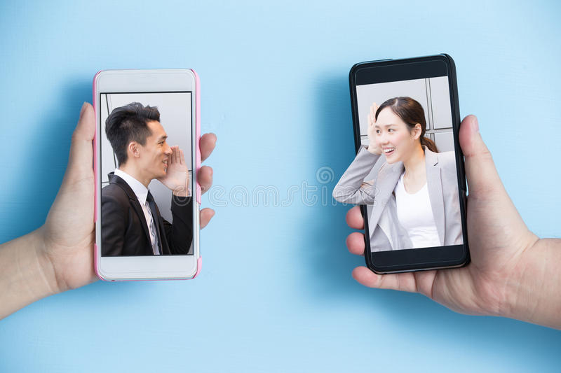 Business communication concept stock photography