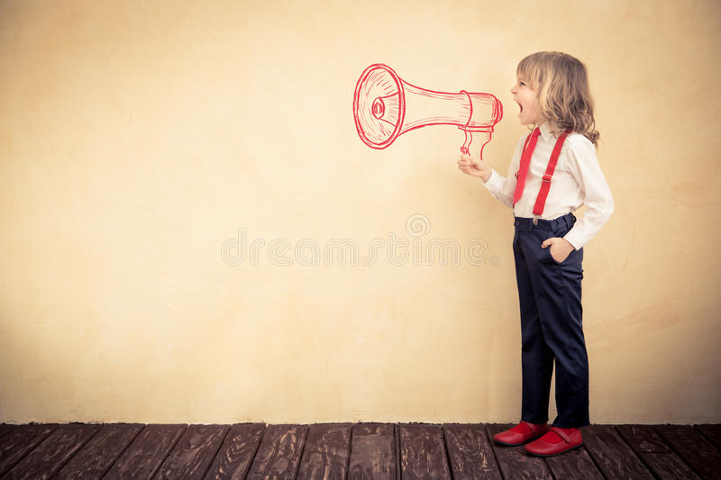 Business communication concept stock image