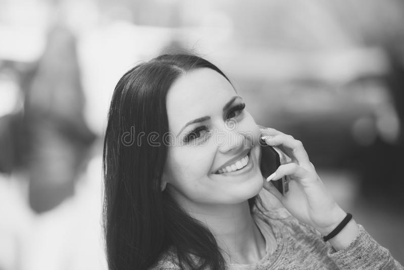 Business and communication, mobile device and technology, social network stock photography