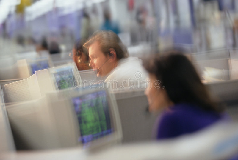 Business communications stock image