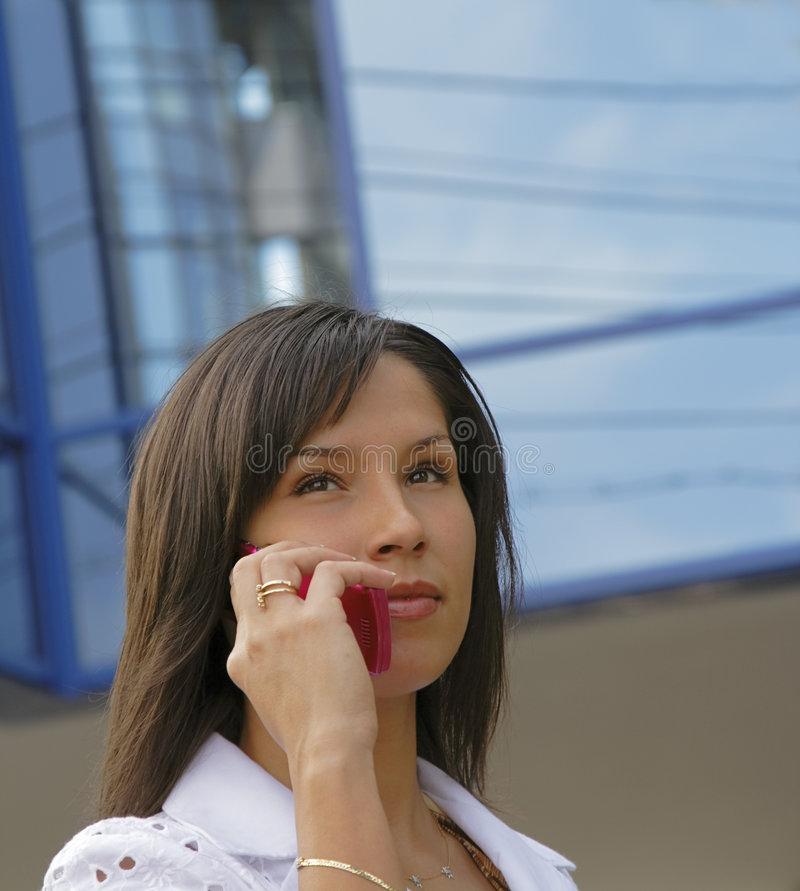 Download Business communications stock photo. Image of fresh, brunette - 2639902