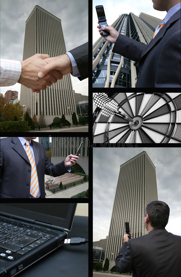 Business Communications Royalty Free Stock Photography