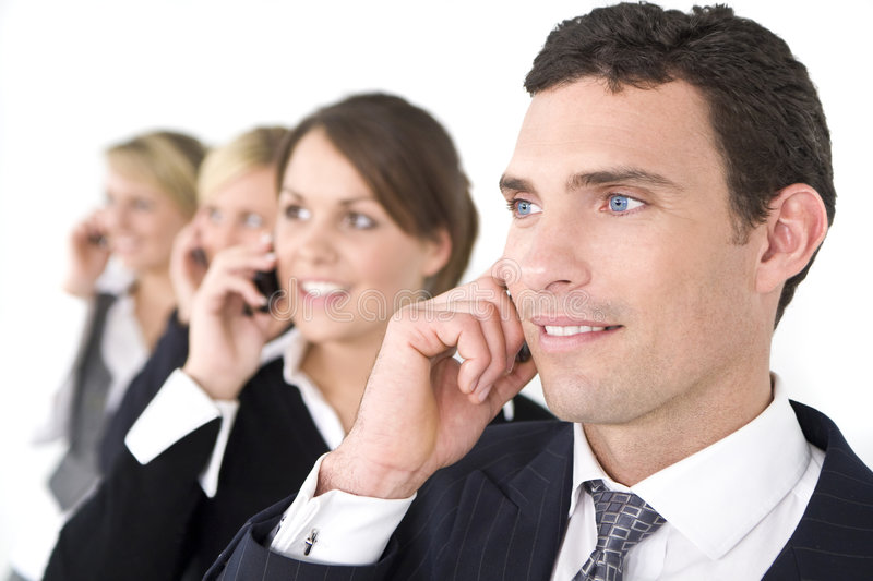 Download Business Communications stock photo. Image of young, focus - 7030780