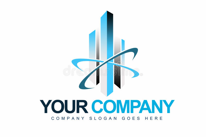 Business Company Logo royalty free illustration