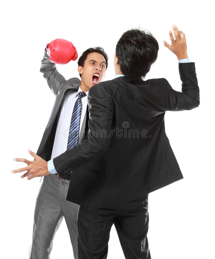 Download Business competition stock image. Image of fight, anger - 25908991