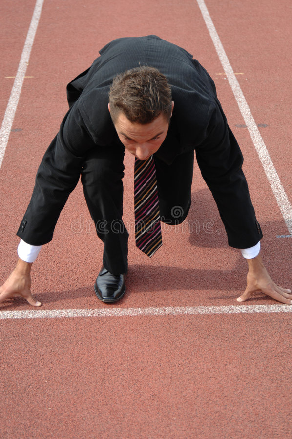 Download Business competition stock image. Image of exercice, overcome - 3499065