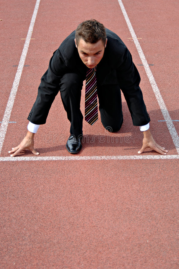 Download Business competition stock image. Image of compete, determination - 4442383