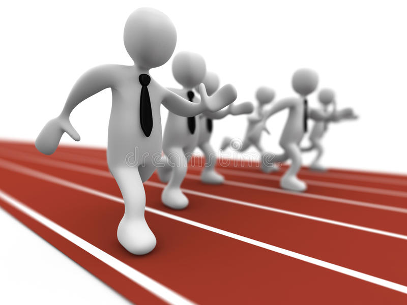 Download Business Competition stock illustration. Image of race - 9806314