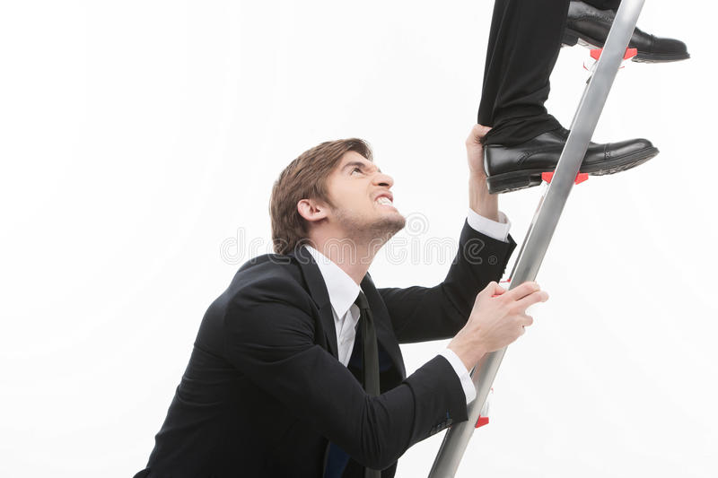 Business competition. stock images