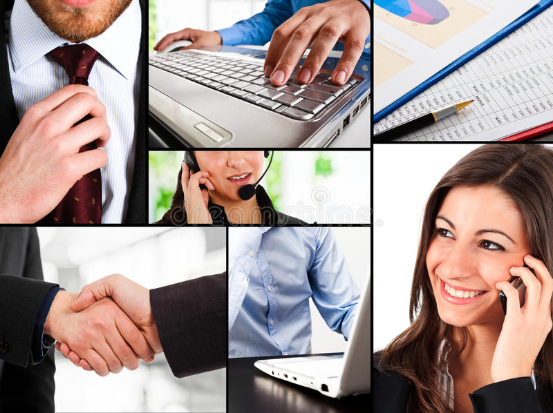 Business composition royalty free stock photos