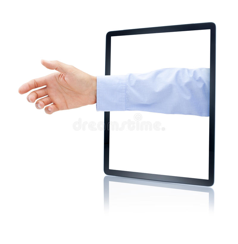 Download Business Computer Tablet Marketing Stock Image - Image: 38591643