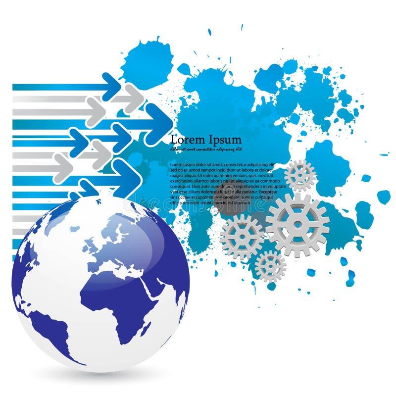 Business concept design royalty free illustration