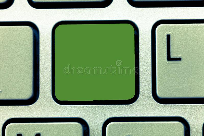 Business concept Empty template copy space  Posters coupons promotional material Keyboard key Intention to. Business concept Empty template copy space  Posters stock images