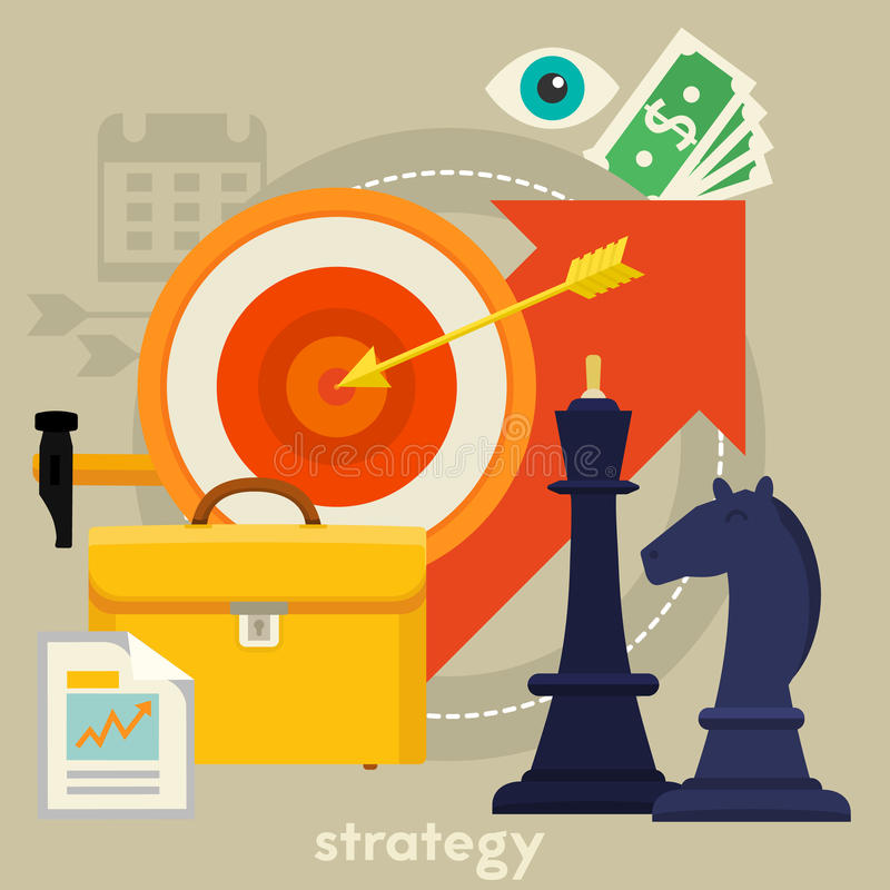 business concept images more my portfolio startegy иллюстрация штока