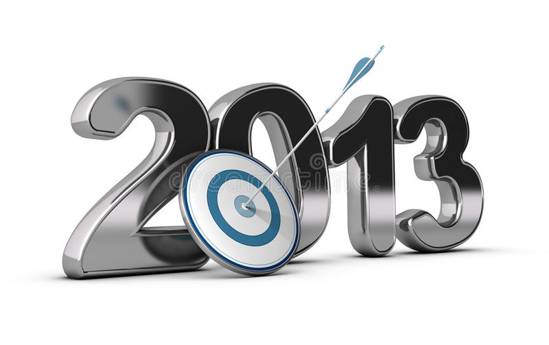 Download Business Concept - 2013 Objectives Achieved Stock Illustration - Image: 33142157