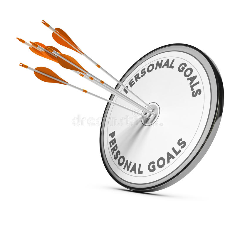 Business Concept, Personnal Goals vector illustration
