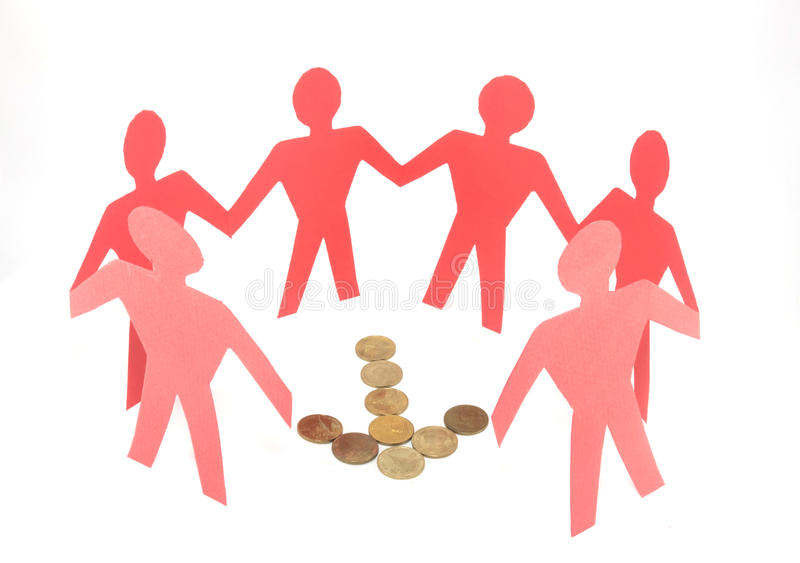 Download Business Concept In Teamwork Stock Image - Image of cutout, cooperation: 39510871