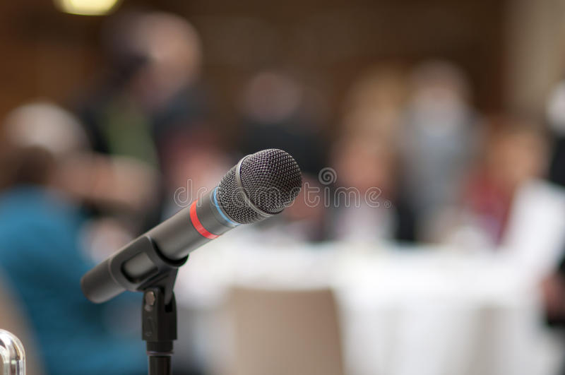Business conference royalty free stock photo