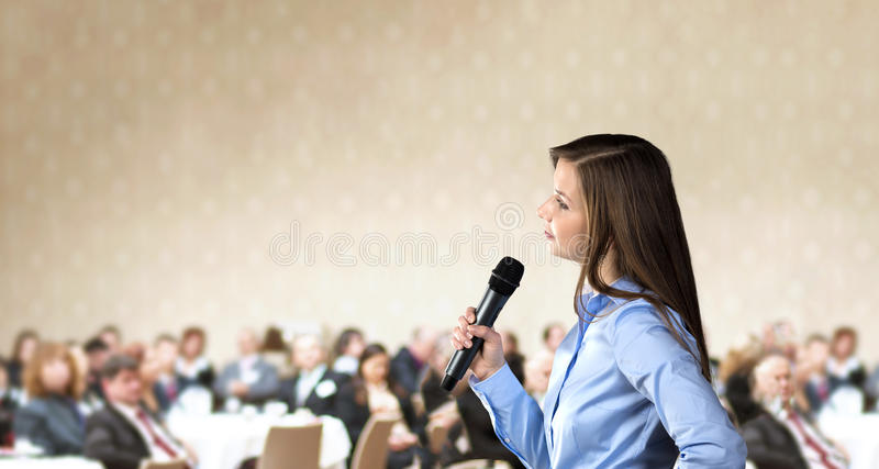 Business conference royalty free stock photos