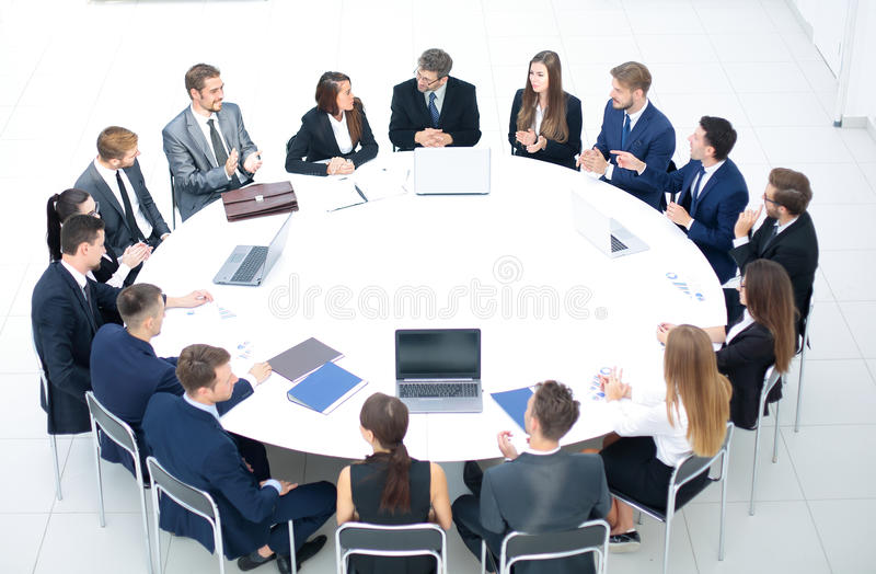Genial Download Business Conference. Business Meeting. Business People In Formal  Stock Photo   Image Of