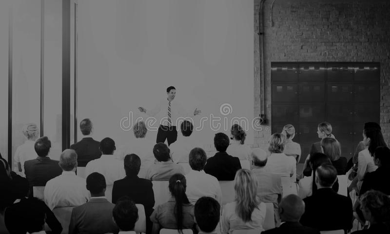 Business conference marketing convention topic royalty free stock image