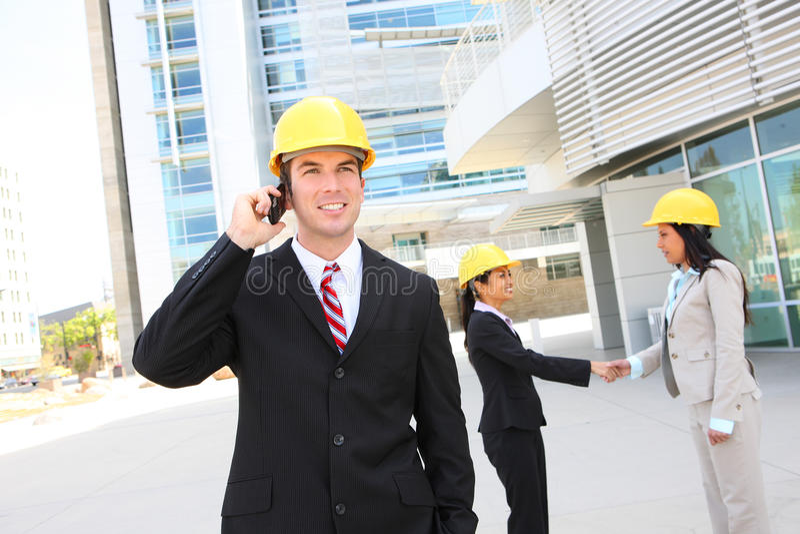 Business Construction Team stock photos