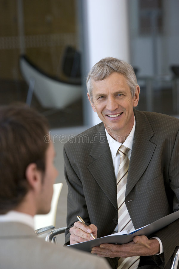 Business consultant royalty free stock photos