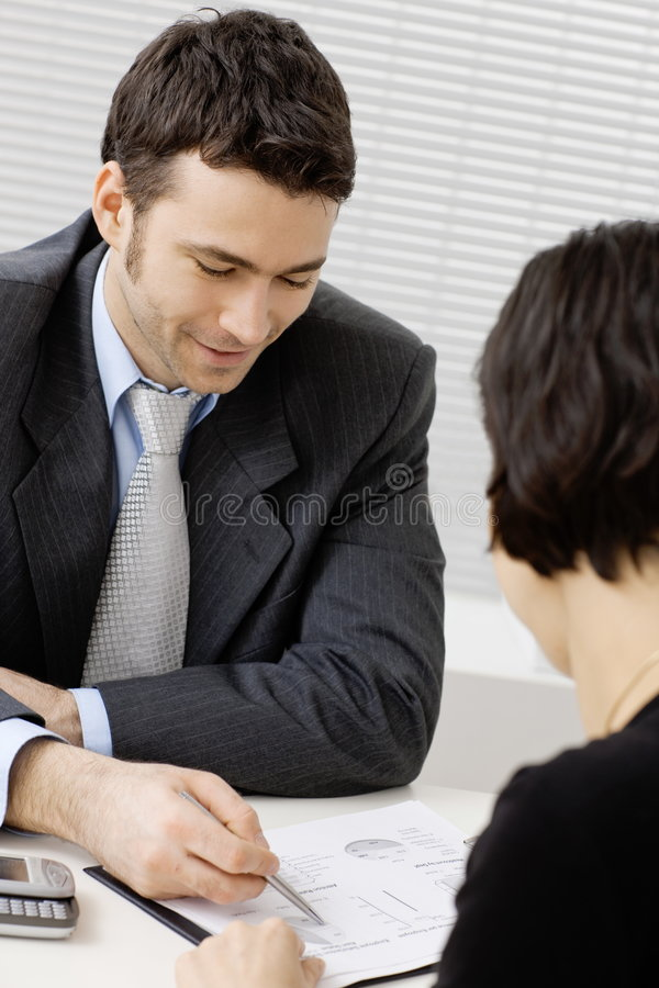 Download Business consultant stock image. Image of advise, career - 7952025