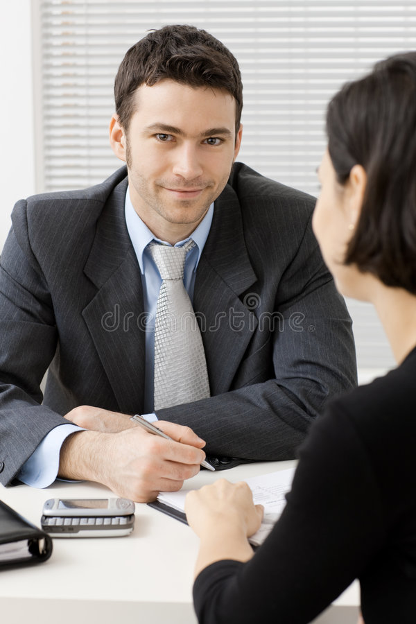 Download Business consultant stock image. Image of color, expression - 8009451