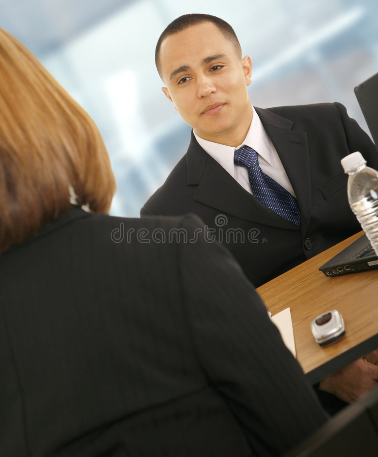 Business Consultation stock photography