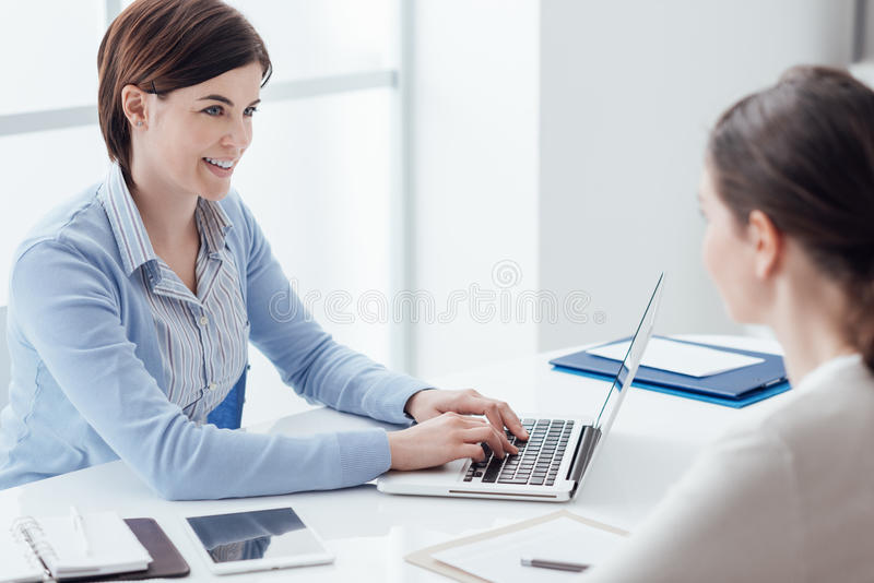 Business consulting royalty free stock images