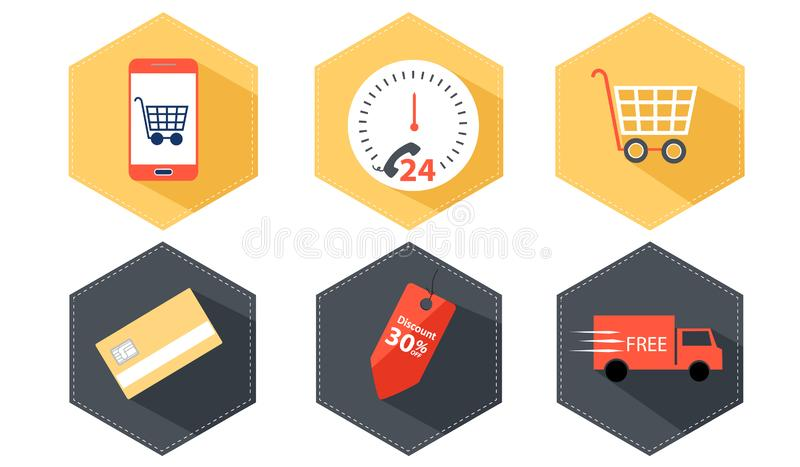 Business contact icon vector royalty free stock image
