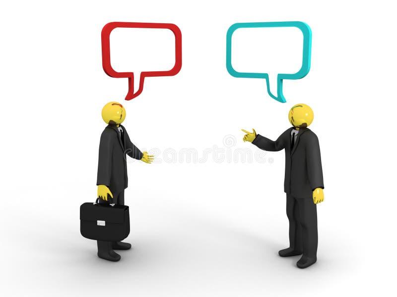 Download Business Conversation stock illustration. Illustration of communication - 13588700