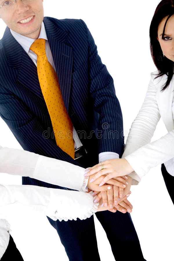 Download Business cooperation stock image. Image of confident, hands - 3420385
