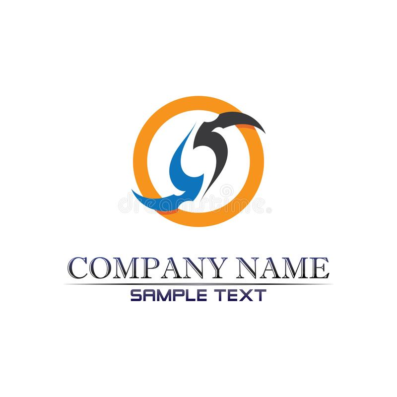 Business corporate letter S logo design vector stock images