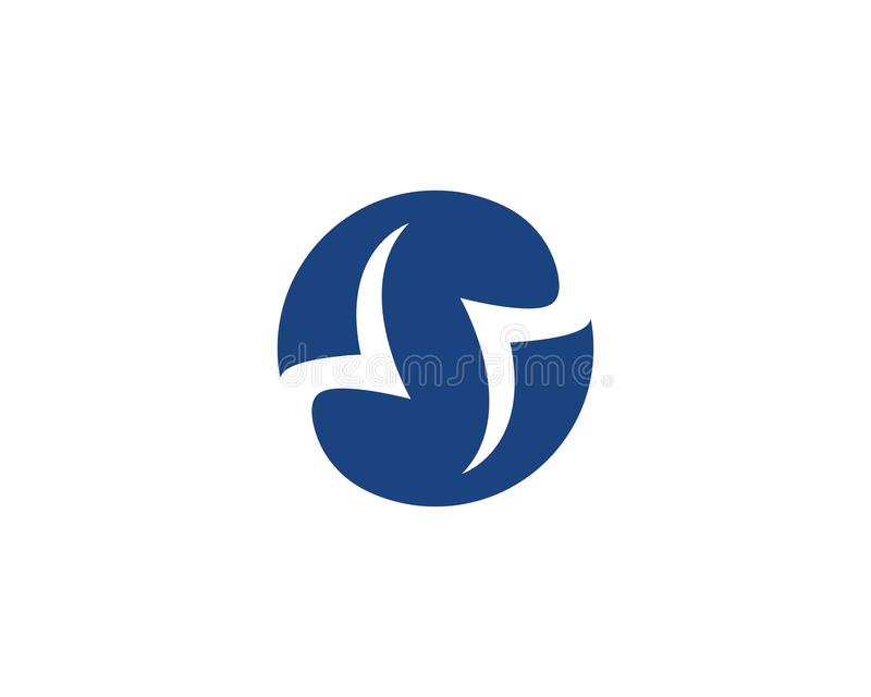 S letter logo. Business corporate S letter logo design vector royalty free illustration
