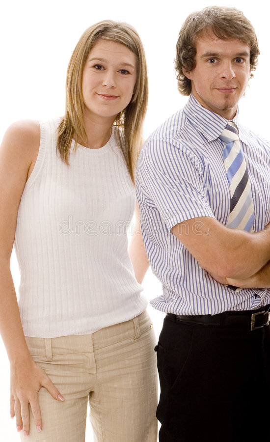 Download Business Couple stock image. Image of male, team, business - 462233