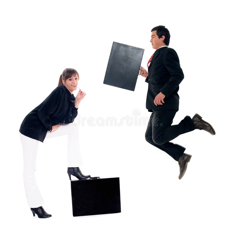 Download Business couple stock image. Image of occupation, market - 7864143